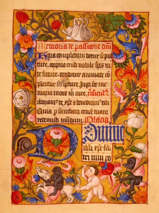 renaissance manuscript latin test