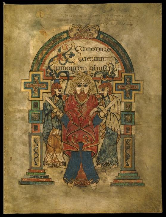 Codex Manuscript Book of Kells 9th Century_Página_227