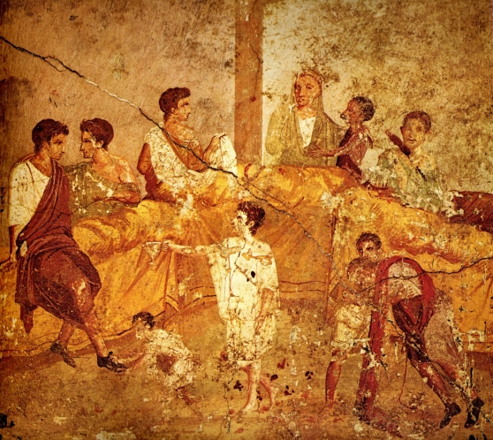 Pompeii_family_feast_painting_Naples
